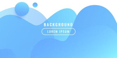Liquid color business background vector