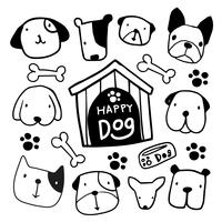dog character  vector