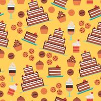 Confectionery Seamless Pattern