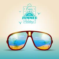Sunglasses Summer Poster