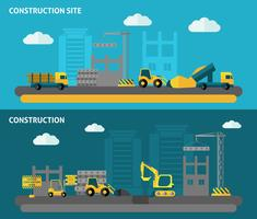 Construction Banner Set