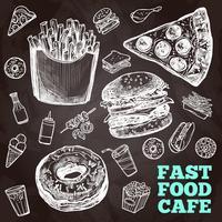 Fast-Food-Tafel