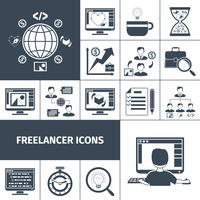 Freelancer Icons Black