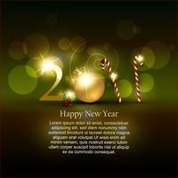 Design des neuen Jahres