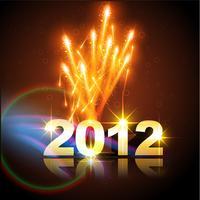 feliz ano novo de vetor