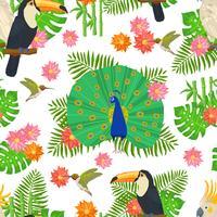 Bird Seamless Pattern
