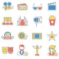Movie Icons Line