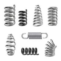 Realistic Metal Springs