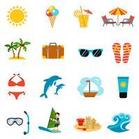 Sommer Icons Set