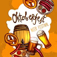 Cartaz do festival de Oktoberfest
