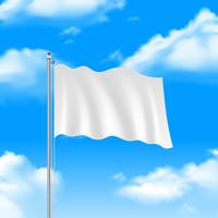 Flag On The Blue Sky