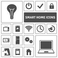 ensemble d'icônes maison intelligente