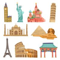 World Landmarks Set