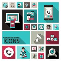 Communicatie Icons Set