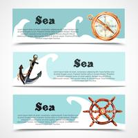 Nautical Banner Set