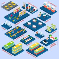 Bus Station Isometric