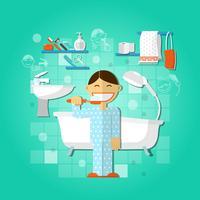 Conceito de higiene pessoal