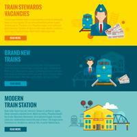Spoorwegbannerset