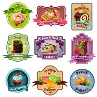 Bakery Emblems Set