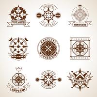 Compass Label Set