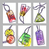 conjunto de banner de marca