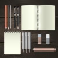 Ilustración de maqueta de negocios