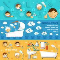 Hygienbanner Horisontell