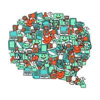 Bolha de mídia social