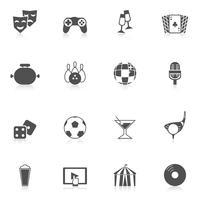 Icone di intrattenimento nere