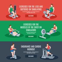 träningsmaskiner set