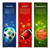 Soccer Banners Set