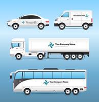 Transport Advertentie Set