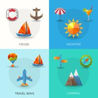 Travel Polygonal Set