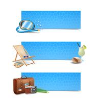 Travel Banner Set