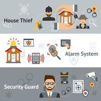 Sicherheits-Banner-Set