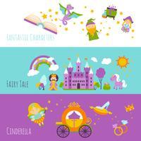 Fairy Tale Banner Set