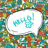 Communication Concept With Speech Bubble