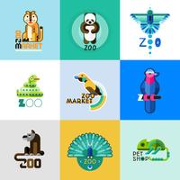 Zoo Logo Set