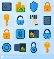 Lock safe elements