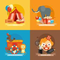 Ensemble plat de cirque