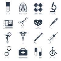 Ensemble d'icônes médicales