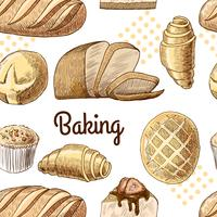 Baking seamless pattern