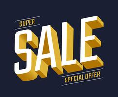 Sale Typography