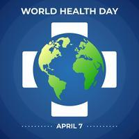 Modelo de Design do ícone de logotipo de campanha do dia mundial da saúde