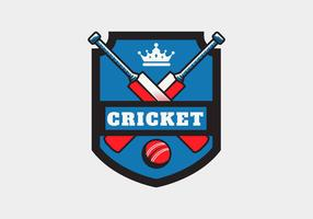 Cricket Logo Vector Illustration
