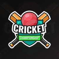Badge de championnat de cricket