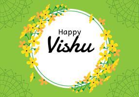Glücklicher Vishu-Hintergrund