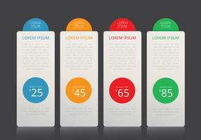 Pricing Table Template Ready to Use