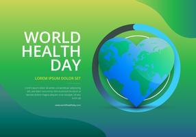 Wereldgezondheidsdag illustratie