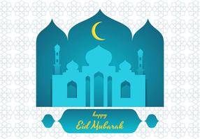 eid mubarak vektor illustration